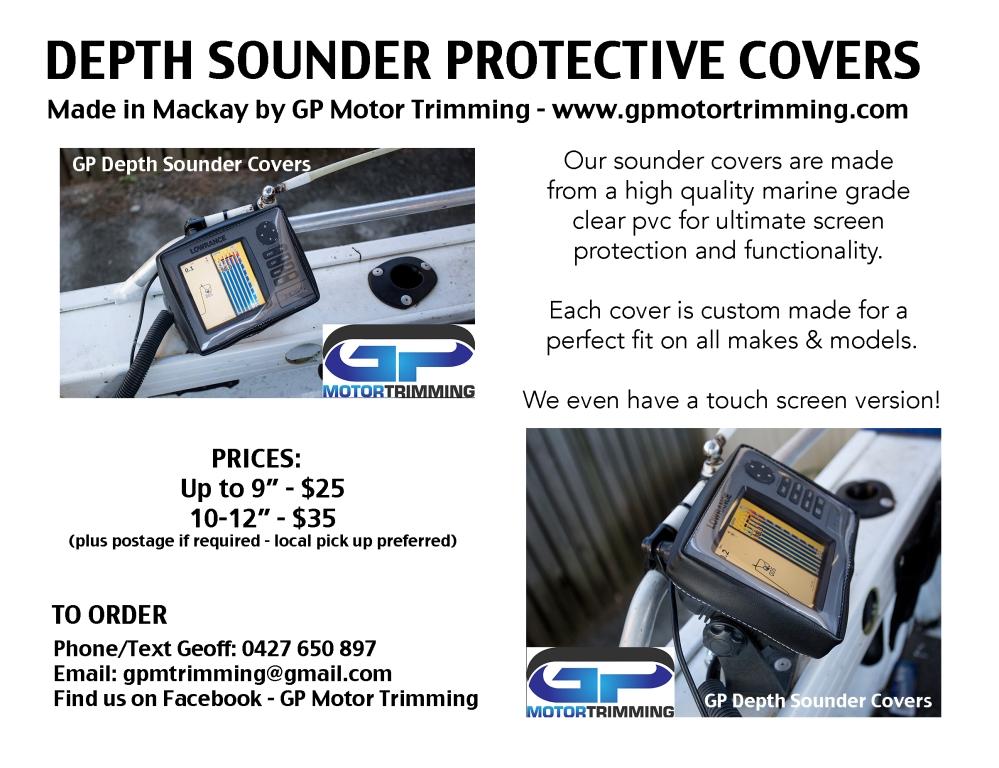 GP Motor Trimming, Depth, Sounder, Covers, Mackay
